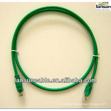 Equipment cord 1 meter utp cat.5e patch cable BC quality with peak performance and small loss