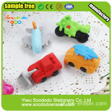 SOODODO Green Ali 3D animal em forma de mini borrachas