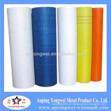 YW-alta temperatura resistentes telhadura Fibra de vidro Wire Mesh para parede reforçada