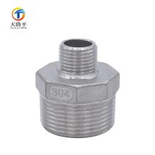 Cabezal directo de rosca externa de acero inoxidable de fundición de precisión \ Junta de tubería de calor de fundición de inversión