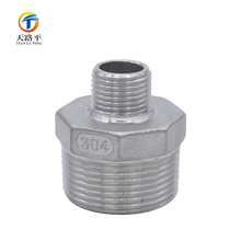Precision Casting Stainless Steel External Thread Direct Head\Investment Casting Heat Pipe Joint