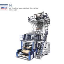 SG-1000 extrusión de película soplada de coextrusión de tres capas