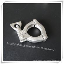 3 segments en acier inoxydable Pipe Card