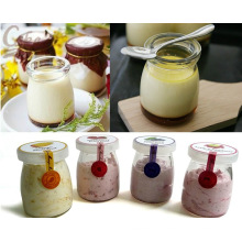 100ml Venta al por mayor linda Jam / Yogurt / Pudding Glass Jar / Botella