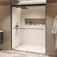 Seawin Modern design Bottom Guider Aluminum Frame Double Sliding Glass Shower Door