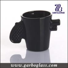 Solid Color Black Glass Mug (GB2604008B)