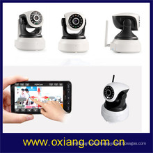 Two-way audio HD Wifi baby camera monitor FCC,CE,ROHS Certification