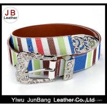 Nouvelle ceinture design de couleur de contraste contrastée