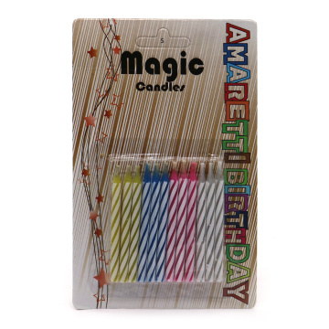 Bougies d'anniversaire décoratives Magic Relighting