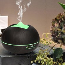 Home Wood Grain 400ml Ultrasonic Diffuser With LED