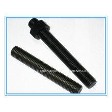 (ASTM A193 B7) Varilla roscada / Barra de rosca / Perno roscado completo con tuercas 2h