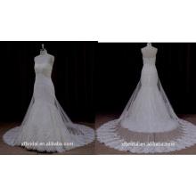 Ns001 Высокое Качество Слоя Тюль Кружева Свадебное Платье 2016