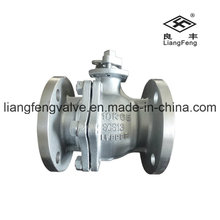 10k JIS Ball Valve Flange End with Stainless Steel