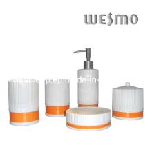 Set d'accessoires de bain en porcelaine (WBC0429A)