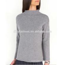 100% кашемировый свитер широкий воронка свитер пуловер дизайн