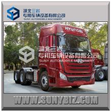 Hyundai 6X4 410HP LHD Traktor Kopf LKW
