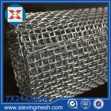 Malha de arame tecido de alumínio