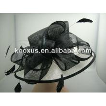 Шляпа Sinamay Millinery изготавливает шапки Sinamay