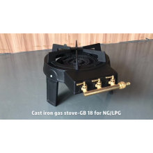 High Quality gas stove cast iron burner camping cookergas  cooktops