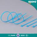 Blaue Nylon Kabelbinder für Drähte