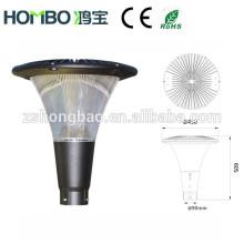 Fábrica de Hongbao Ventas calientes HB-035-04 Luz del jardín del CE ROHS 30w-50w LED luz llevada solar del jardín