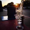 Tuyau de fumée en verre Tuyau d'eau Recycler Pipes Oil Rig
