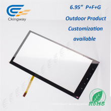 "Drift Free 6,95 ""Pet Film Glas Interactive Touch Panel"