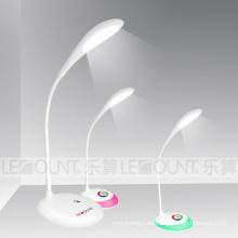 Berührungsempfindliche wiederaufladbare LED Tischleuchte mit lebenden Farben (LTB716)