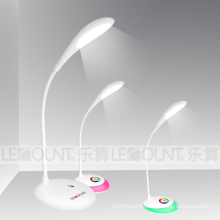 Touch-Sensitive Rechargeable LED Table Lamp with Living Colors (LTB716)