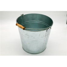 Bier Marke Themed Galvanized Steel Ice Bucket