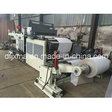 Paper Roll Cutting Machine with Middle Slitting Function