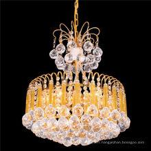 Classique petite taille led lustre en cristal vintage pendentif lumière LT-72073