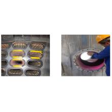 Pó de pigmento fotoluminescente para inspeção de sacos de filtro