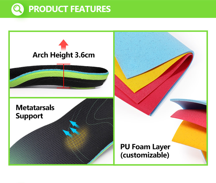 Running Shoe Insoles For Flat Feet 9