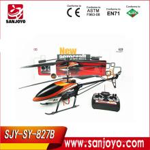 827B-3.5CH 3.5 CH Metal Remote Control RC Helicóptero con cámara y giroscopio