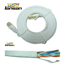copper lan cable flat cat5e cable OEM available