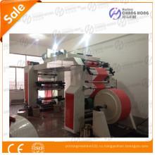 Флексографская печатная машина на нетканых мешках высокой печати