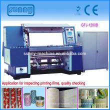 Machine d'inspection à grande vitesse pour toutes sortes de film d'impression
