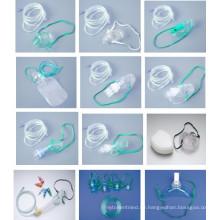 Genehmigt durch CE-Qualitäts-Sauerstoffmaske mit konkurrenzfähigem Preis