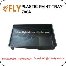 "9"" Black Plastic paint tray"