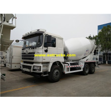 SHACMAN 12 Wheeler Concrete Transport Trucks