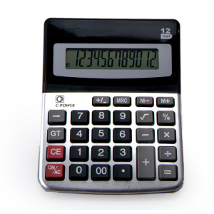 12 Digits Office Desktop Calculator