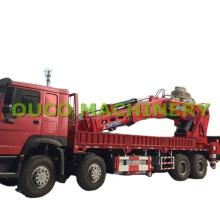 Heavy Duty Semi-Knuckle Boom Truck Mounted Crane with Electric Hydraulic Power Unit