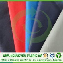Matières premières de textile de tissu non-tissé de pp