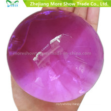 Purple Pearl Shape Big Soft Crystal Soil Mud Kids Toy Grow Water Balls Plant Cultivate Home Decoration