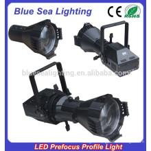 200W LED white / 4IN1 prefocus profile spot studio led light