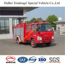 2.5ton Isuzu camión de bomberos de agua Euro4