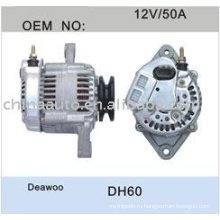 Список Цена генератора двигателя для Daewoo DH60