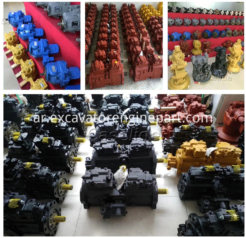 Psvd2 21e 20 Psvd2 27e 17 Psvd2 Hydraulic Piston Pump For Excavator Pumps