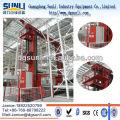 Автоматический склад 3-мерной электронное оборудование стеллаж